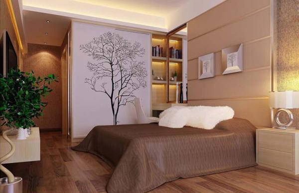 方圆创世80平方两室两厅现代简约装修案例效果图
