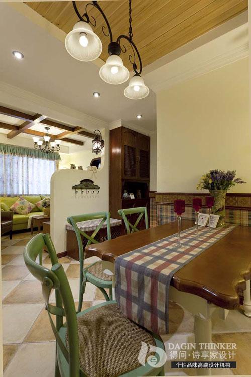 餐厅图片来自得间诗享家设计在港东名居的分享