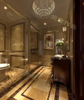 欧式 别墅 白领 收纳 旧房改造 80后 小资 高富帅 白富美 卫生间图片来自今朝装饰——李胜晓在中信城的分享