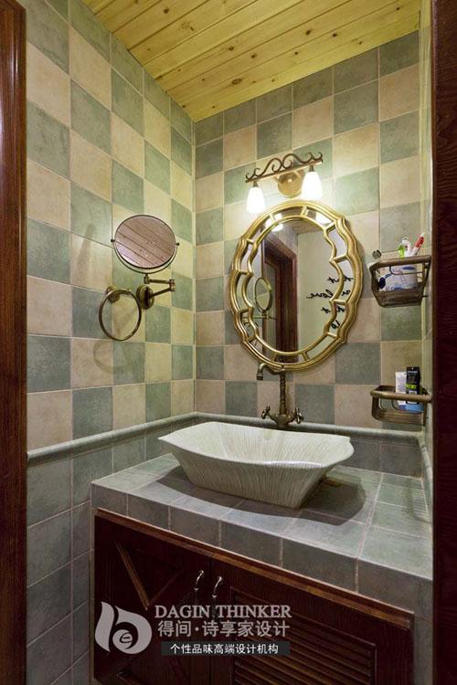 卫生间图片来自得间诗享家设计在港东名居的分享