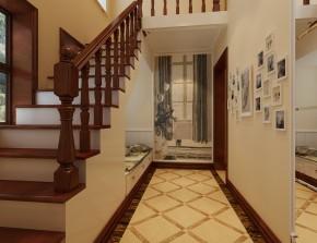 别墅 白领 尚层装饰 美式 楼梯 楼梯图片来自北京别墅装修案例在清新美式展现经典美学空间的分享