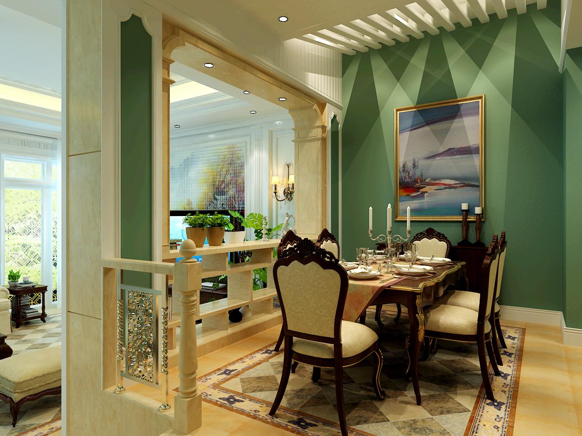 别墅设计 太原楼盘 太原别墅 半山 欧式 餐厅图片来自王含亦在半山国际的分享