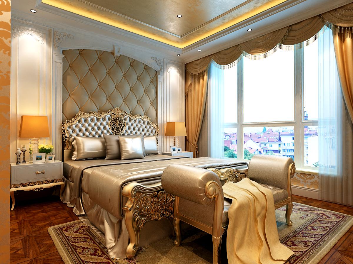 别墅设计 太原楼盘 太原别墅 半山 欧式 卧室图片来自王含亦在半山国际的分享