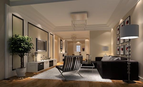 设计师对生活的理解所打造出的人性化舒适化一体化的精致设计!客厅颜色暖而透亮,布局与色调呼应统一,体现了设计师的资深功底!