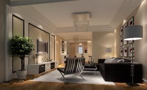 现代 高度国际 三居 简约 白领 80后 时尚 白富美 高富帅 客厅图片来自北京高度国际装饰设计在长滩一号89平现代三居的分享