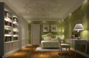 简约 三居 白领 80后 白富美 婚房 高度国际 欧式 时尚 儿童房图片来自北京高度国际装饰设计在鲁能七号院180平简约公寓的分享