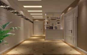现代 简约 舒适 北京装修 北京设计 玄关图片来自高度国际装饰韩冰在金谷香郡127㎡现代简约效果的分享