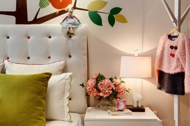 高度国际 三居 白领 80后 白富美 高富帅 时尚 小清新 简约 卧室图片来自北京高度国际装饰设计在青春期的花样年华的分享