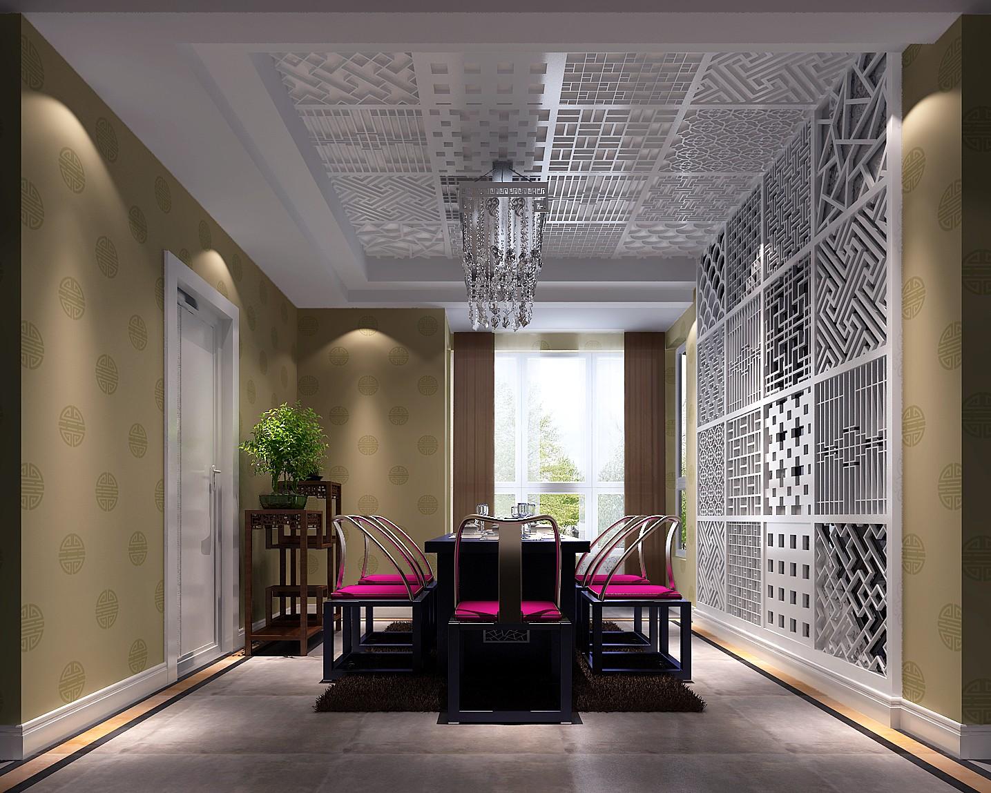 简约 混搭 三居 白领 80后 白富美 高富帅 时尚 婚房 餐厅图片来自北京高度国际装饰设计在中泰混搭140平极品三居的分享