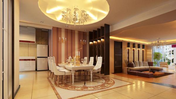 欧式古典风格比较注重背景色 调,由墙纸、地毯、帘幔等装饰织物组成的背景色调对控制室内整体效果起 了决定性的作用。