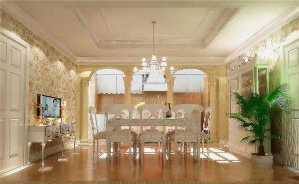 此案例的客户,夫妻俩有两个女儿,和母亲同住。喜欢英式古典、浅色奢华。针对客户的生活习惯和需求将空间做了如下的划分: