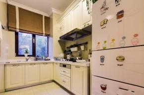 高度国际 三居 白领 80后 白富美 高富帅 时尚 小清新 简约 厨房图片来自北京高度国际装饰设计在青春期的花样年华的分享