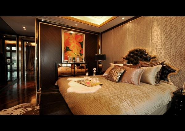 中式奢华装修风格-样板房设计