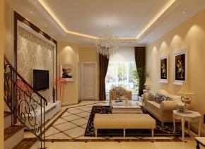 欧式 别墅 新古典 实创装饰 温馨 客厅图片来自武汉实创装饰在银湖水榭以色彩调和空间的生机的分享