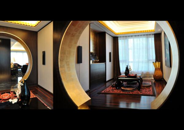 中式奢华装修风格-样板房