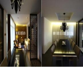 新中式 玄关 三居 文艺青年 开放式 餐厅图片来自武汉东易日盛在光谷坐标城--王绍鑫的分享