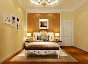 欧式 别墅 新古典 实创装饰 温馨 卧室图片来自武汉实创装饰在银湖水榭以色彩调和空间的生机的分享