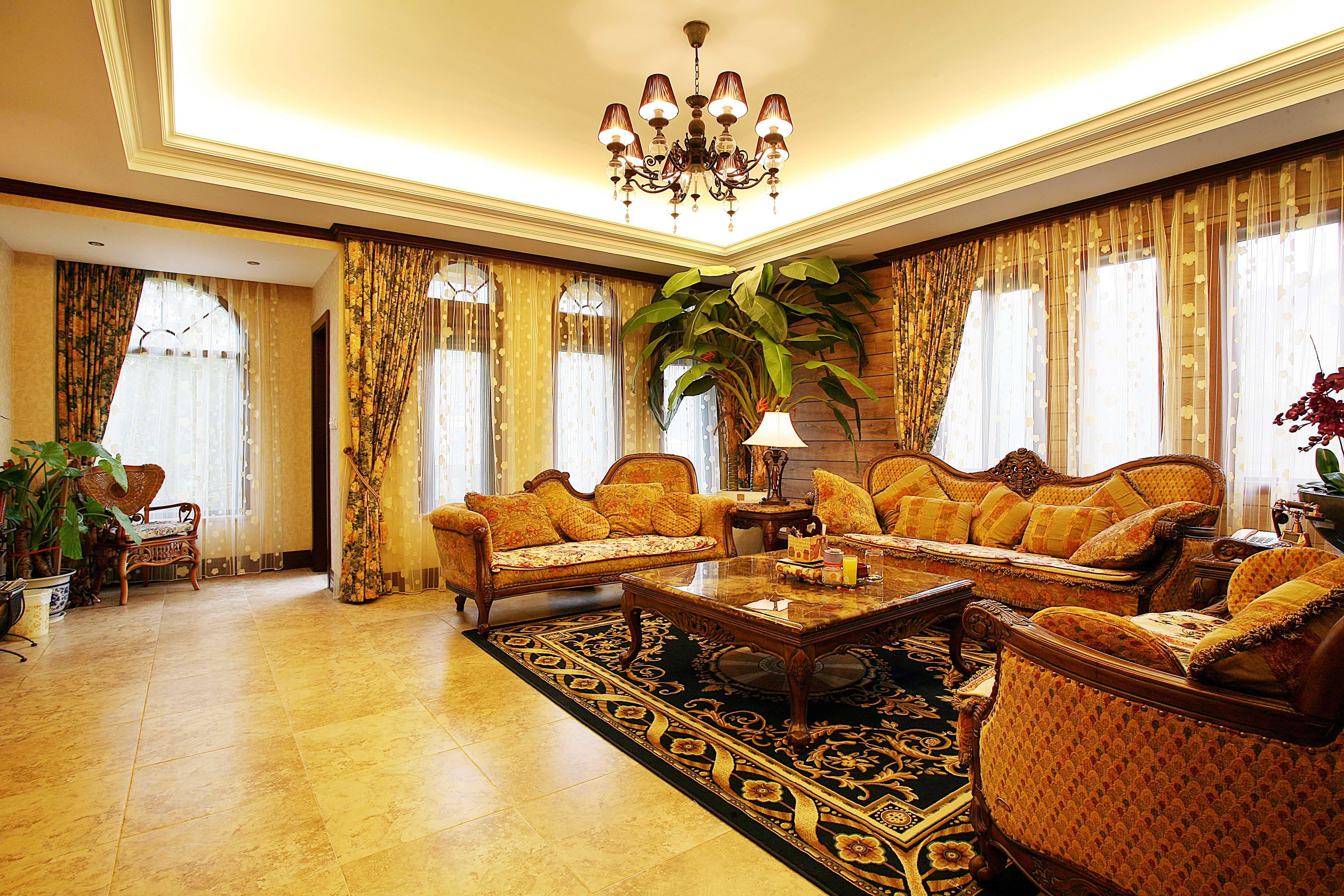 别墅 客厅 卧室 混搭图片来自北京今朝装饰刘在西山一号院的分享