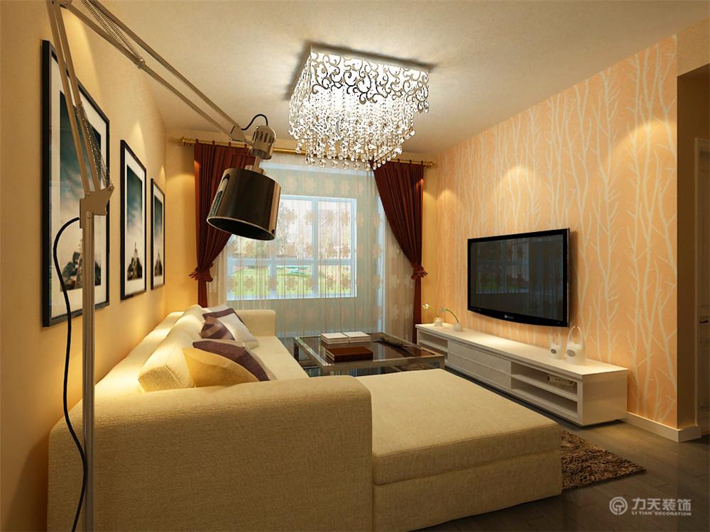 简约 三居 白领 收纳 80后 小资 客厅图片来自阳光力天装饰梦想家更爱家在现代 华城丽苑3室2厅1厨1卫106㎡的分享