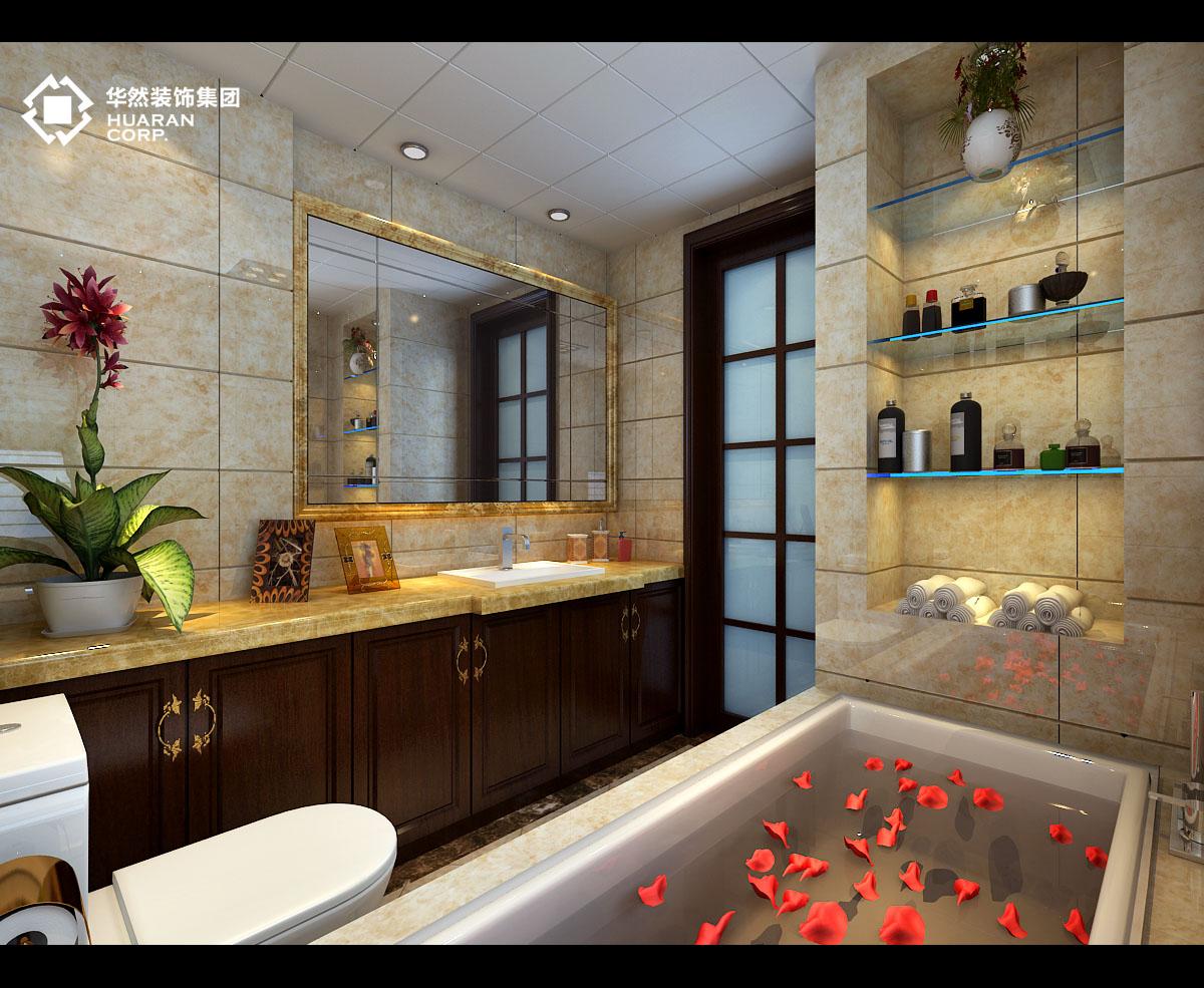 欧式 三居 合肥 万达公馆 华然 华然装饰 客厅 卧室 卫生间图片来自华然装饰汪园在万达公馆的分享