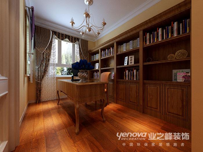 武汉业之峰 新房装修 装修效果图 书房图片来自猫咪爱吃鱼在美式田园——舒适,自然格调的分享
