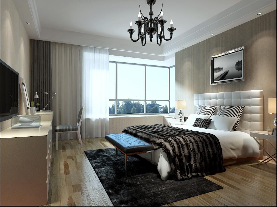 新古典 四居 奥邦 高娟 卧室图片来自上海奥邦装饰在锦绣逸庭四居室装修设计新古典的分享