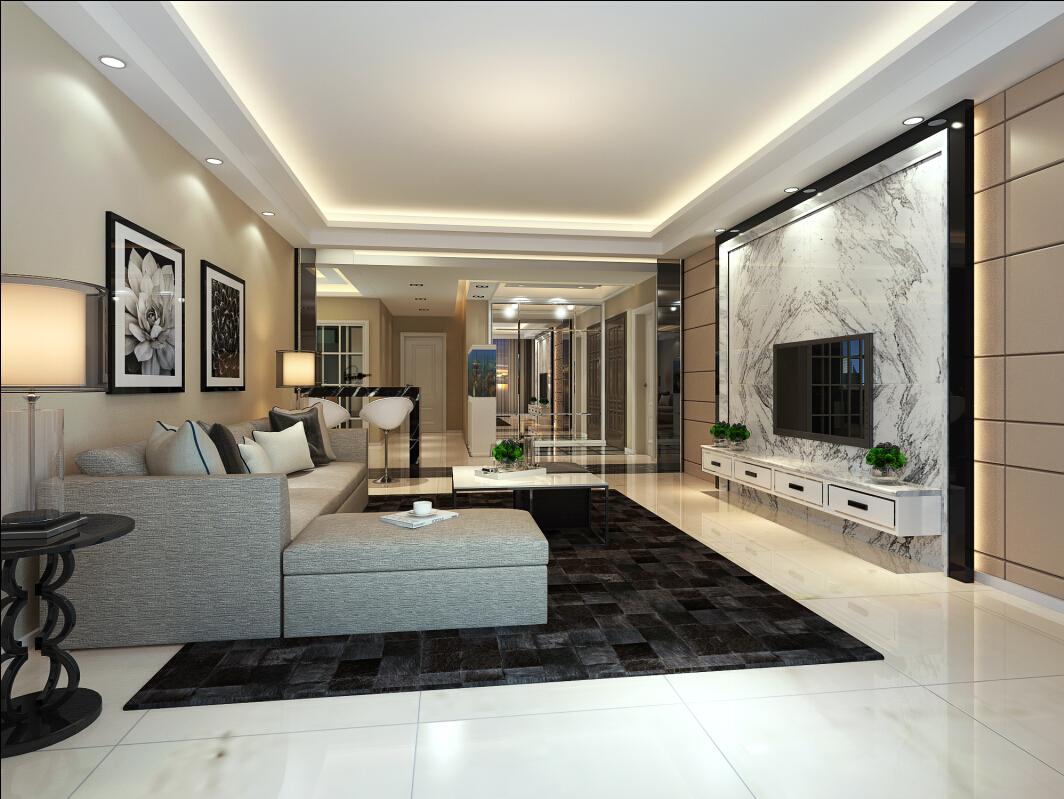 新古典 四居 奥邦 高娟 客厅图片来自上海奥邦装饰在锦绣逸庭四居室装修设计新古典的分享