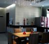 名雕装饰设计—枫丹白露现代三居室-餐厅