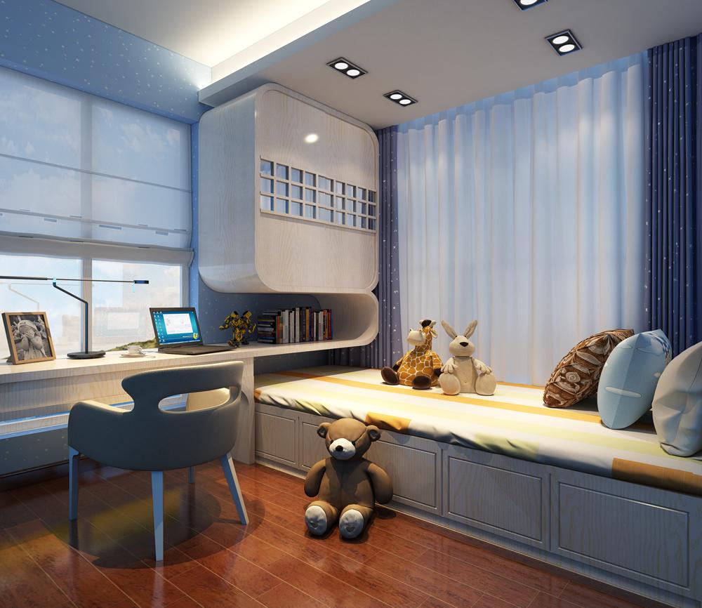 儿童房图片来自深圳市浩天装饰在百富大厦的分享