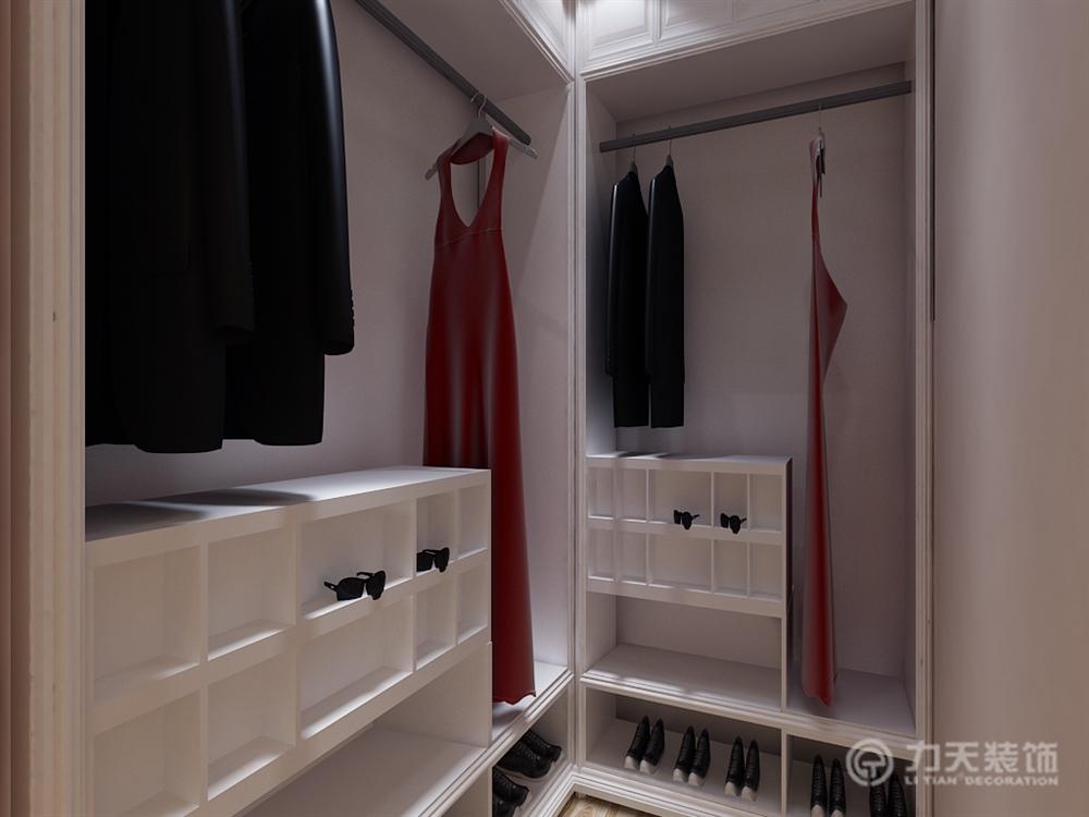 简约 三居 白领 收纳 80后 小资 衣帽间图片来自阳光力天装饰梦想家更爱家在北宁湾3室2厅91平设计方案的分享