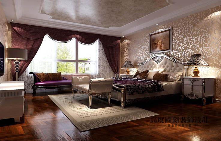 欧式 洋房 卧室图片来自高度国际设计装饰在鲁能7号院186㎡花园洋房欧式风格的分享