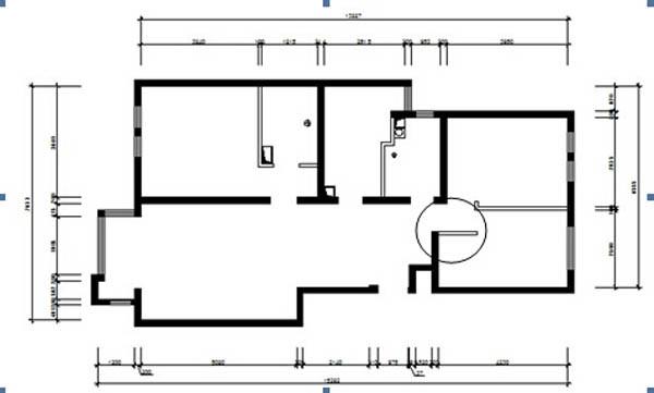 客卧轻质墙体更改后加大储物空间,提高空间的流畅性。
