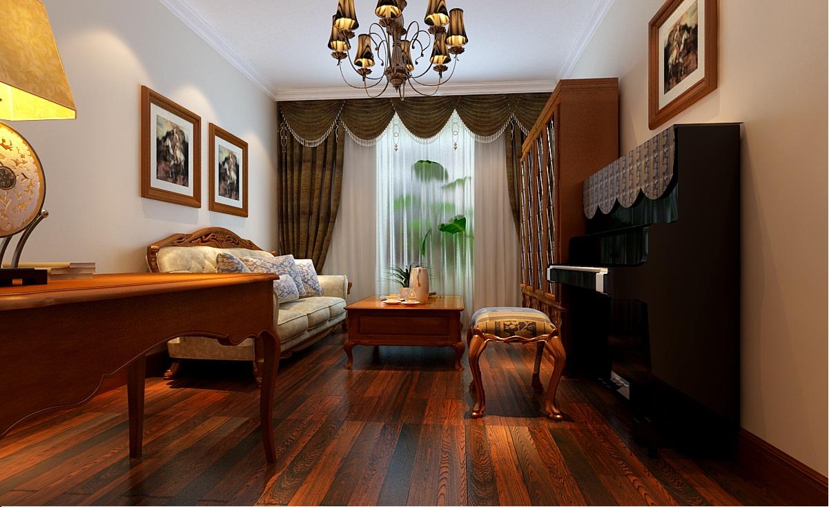 实创装饰 成都实创 实创 整体家装 140平米 三居 欧式风格 白领 收纳 客厅图片来自实创装饰成都分公司在140平米欧式风格三居的分享