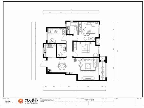 本案为亚泰澜公馆洋房标准层YA-7户型3室2厅2卫1厨 126.00㎡的户型。设计风格定义为简约雅致主义风格。简约风格就是简单而有品位. 这种品位体现在设计上的细节的把握, 每一个细小的局部和装饰,都要深思熟虑