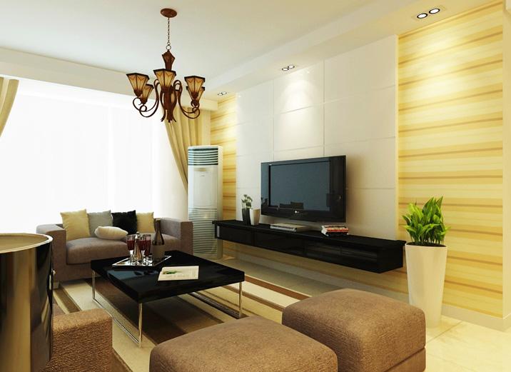 简约 三居 白领 收纳 旧房改造 客厅图片来自北京实创装饰在华贸城119平米简约三居的分享