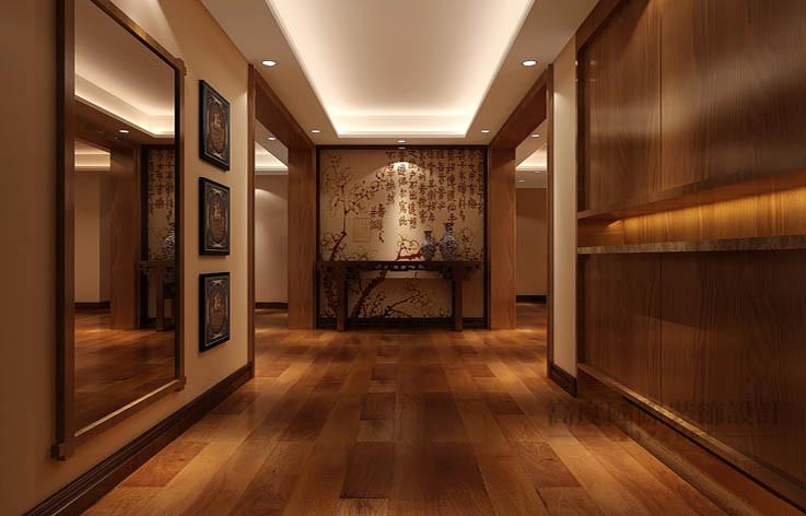 中式 公寓 其他图片来自高度国际设计装饰在军区大院150㎡新中式 风格的分享