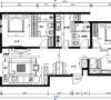 方案设计上考虑储物空间,主卧、客厅、门厅更改出储物间。都大大的增强了储物性。包括厨房的置物架可以很好的利用空间。可以随潮流而变,可以随心情而变。突显奢华的韵律。