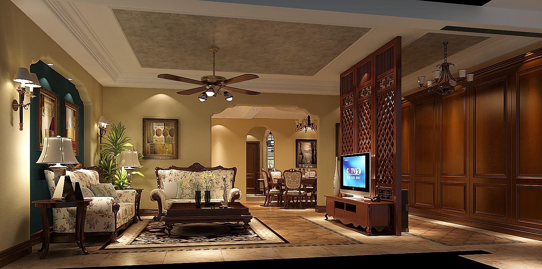 高度国际 欧式 别墅 客厅图片来自凌军在15.3w打造中海尚湖世家的分享