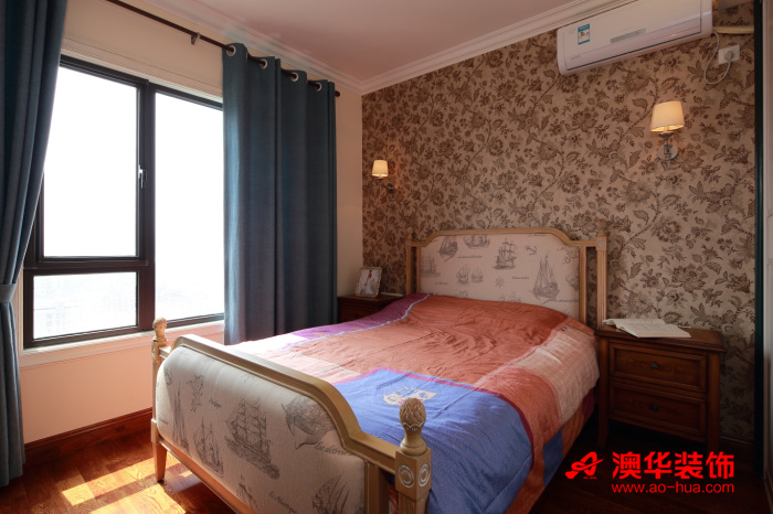 东南亚风格 混搭 复地东湖 卧室图片来自用户5193438255在驴友复地东湖国际107平米小三居的分享