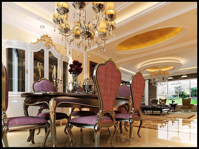欧式 三居 80后 餐厅图片来自呼市装修公司城市人家在欧式风格的分享