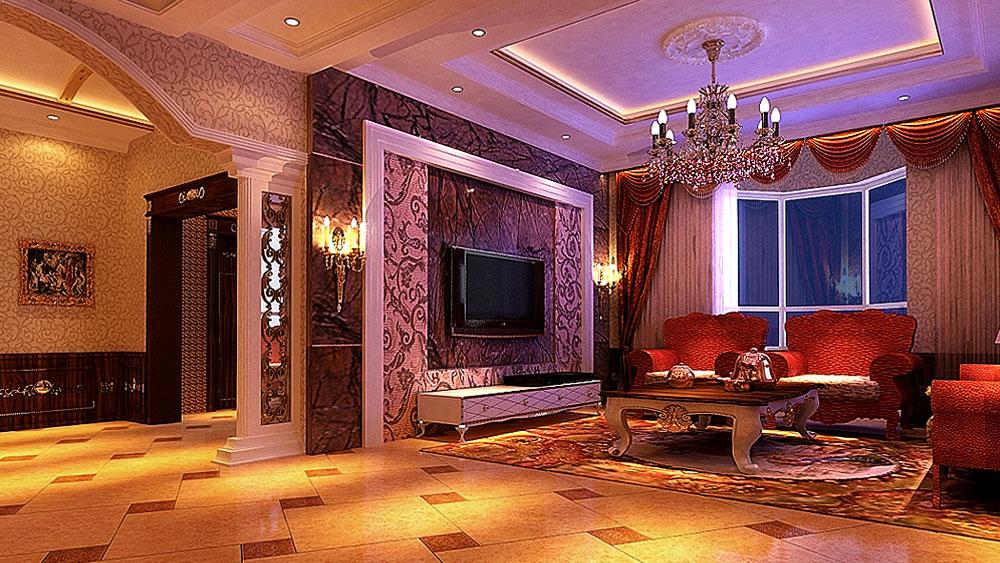 威尼斯花园 别墅 古典欧式 高度国际 装饰设计 客厅图片来自高度国际装饰宋增会在20万打造古典欧式的分享