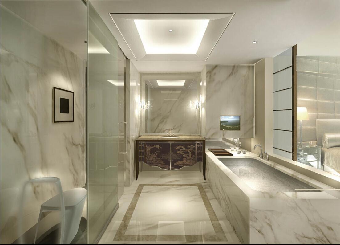 新古典 四居 奥邦 高娟 卫生间图片来自上海奥邦装饰在锦绣逸庭四居室装修设计新古典的分享