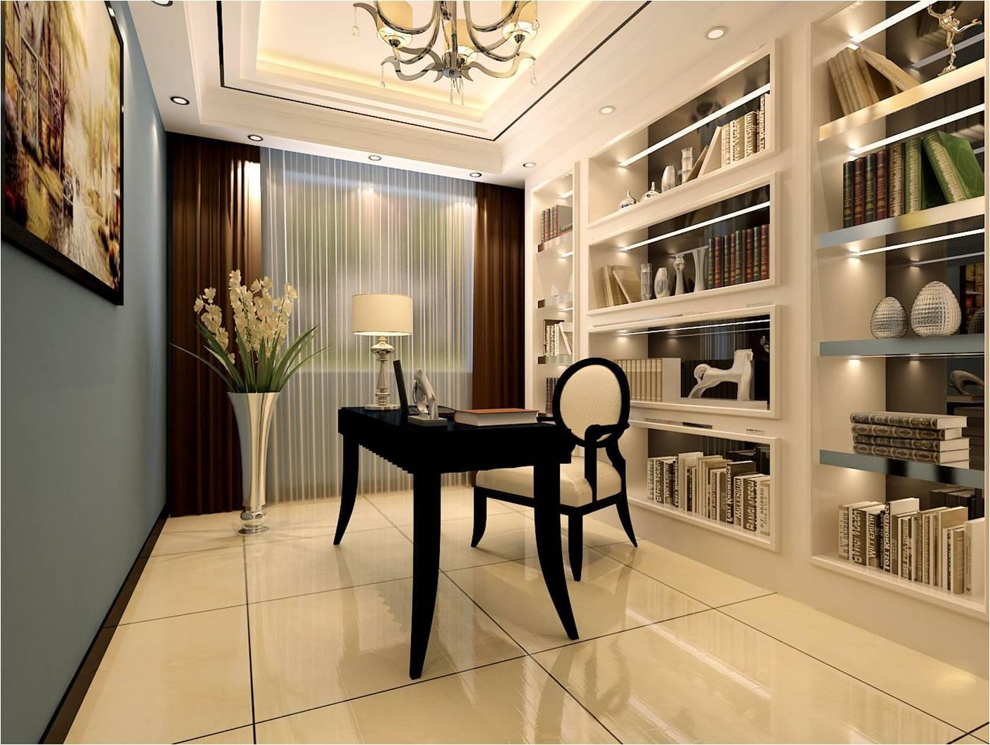 简约 现代 国安居 装饰 设计 书房图片来自国安居装饰在方直君御--现代简约的分享