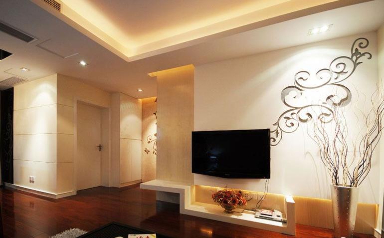 客厅图片来自亚光亚装饰在凸显简约素洁气质的分享