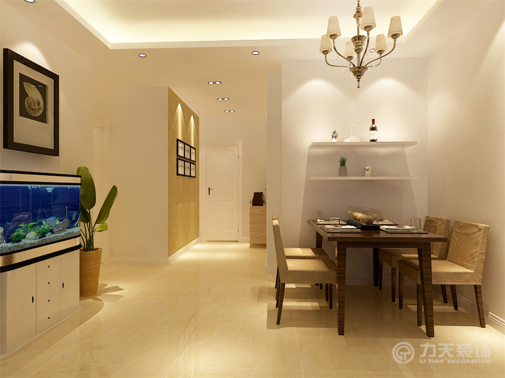 简约 三居 白领 收纳 80后 小资 餐厅图片来自阳光力天装饰梦想家更爱家在京东里领袖城3室2厅2卫130㎡中式的分享