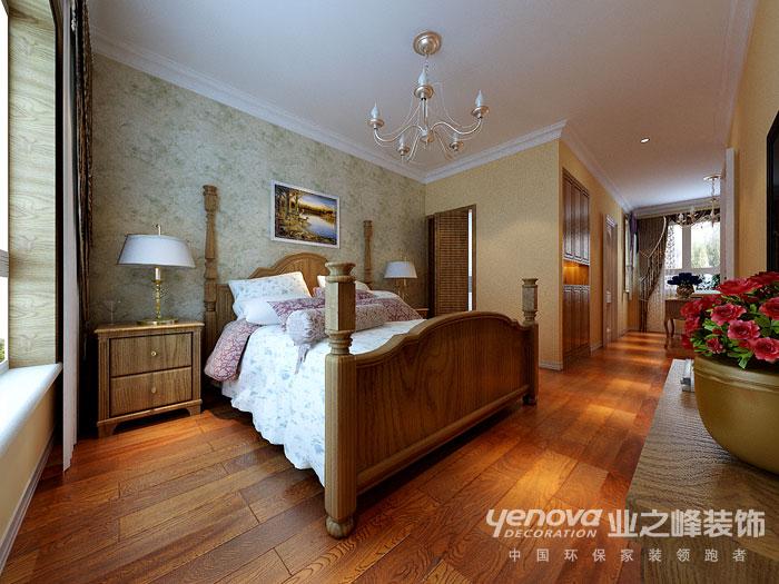 武汉业之峰 新房装修 卧室图片来自猫咪爱吃鱼在美式田园——舒适,自然格调的分享