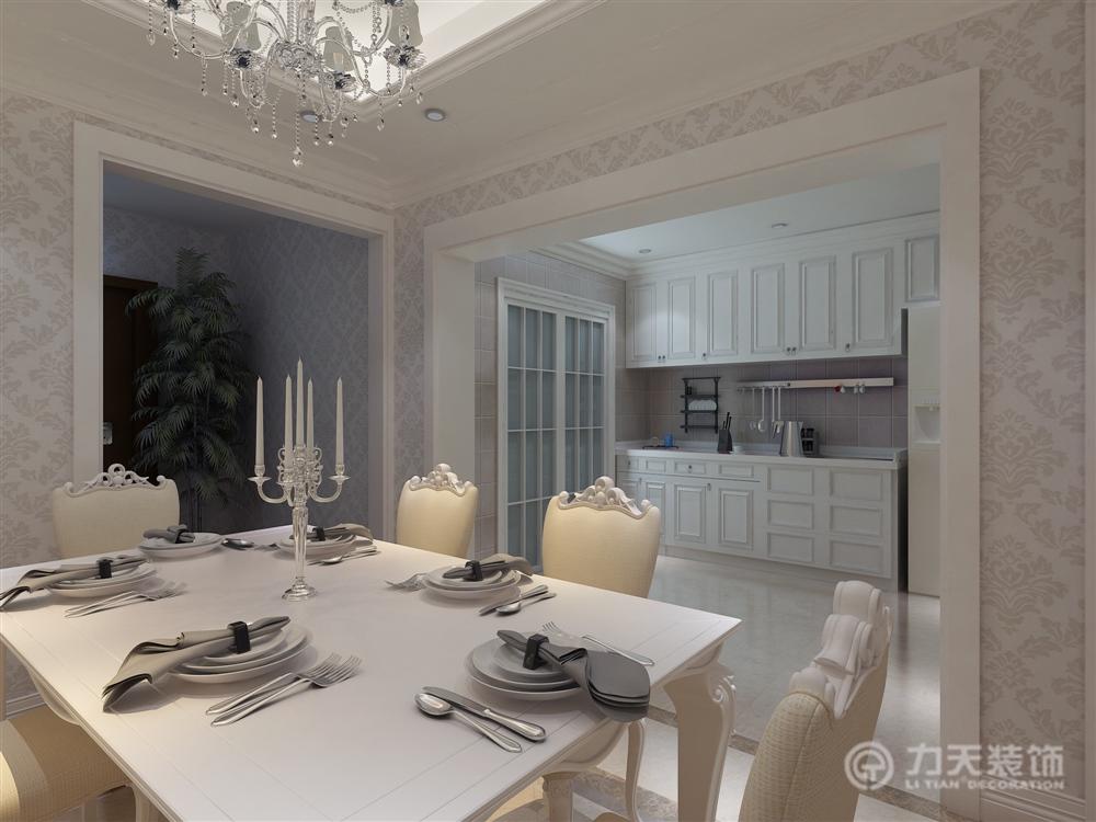 别墅 白领 收纳 80后 小资 欧式 餐厅图片来自阳光力天装饰梦想家更爱家在仕林园6室4厅3卫218平-简欧的分享