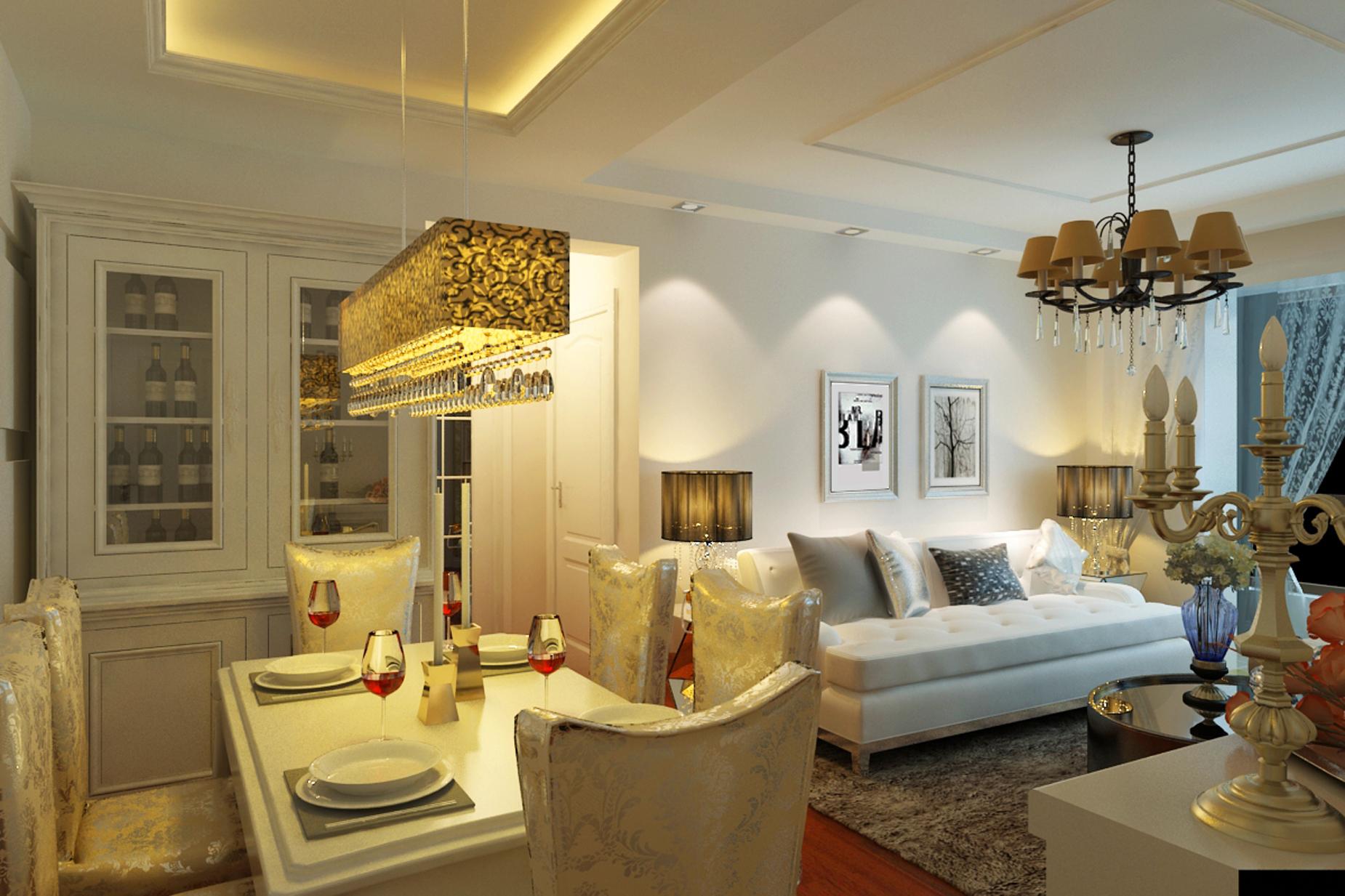 上海建筑 简约 欧式 二居 白领 收纳 小资 餐厅图片来自实创装饰百灵在小夫妻7.2万装修上海建筑的分享