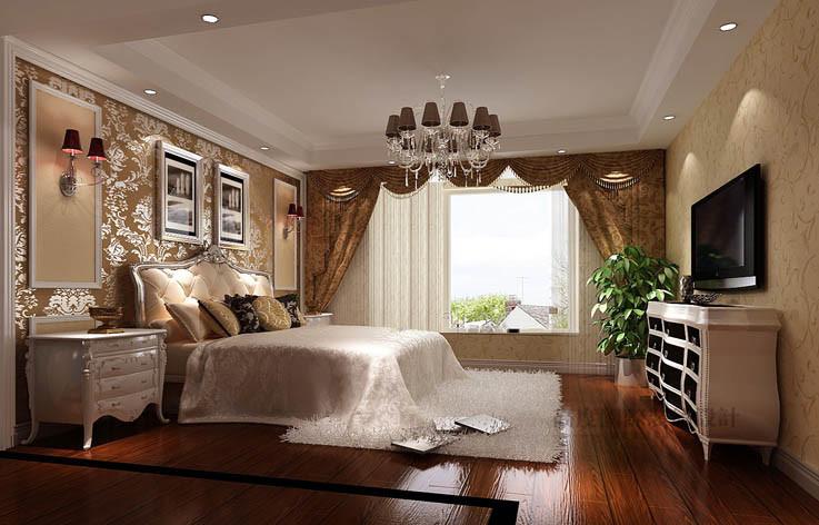 欧式 洋房 卧室图片来自高度国际设计装饰在旭辉御府177㎡花园洋房欧式风格的分享