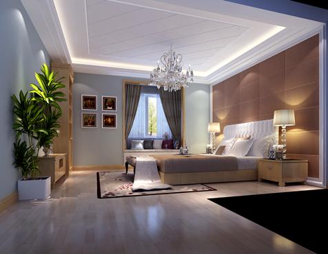 简约 混搭 别墅 卧室图片来自合建装饰总部在孔雀城华丽范现代简约风格的分享